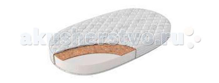 Матрасы Evoland овальный в кроватку-трансформер