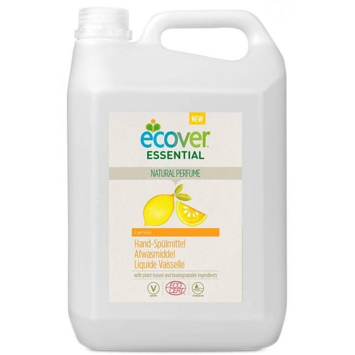 Гигиена и здоровье , Бытовая химия Ecover Жидкость для мытья посуды с лимоном Essential 5 л арт: 437859 -  Бытовая химия