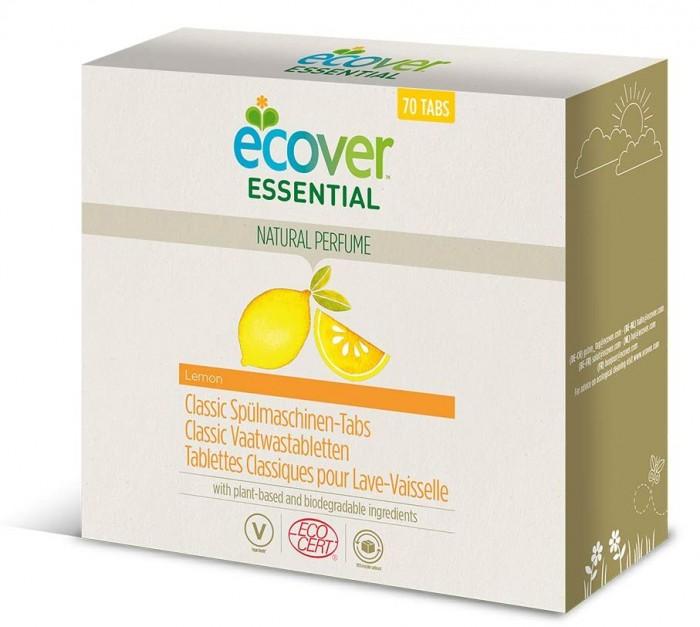 Гигиена и здоровье , Бытовая химия Ecover Таблетки для посудомоечной машины Essential 1.4 кг арт: 437874 -  Бытовая химия