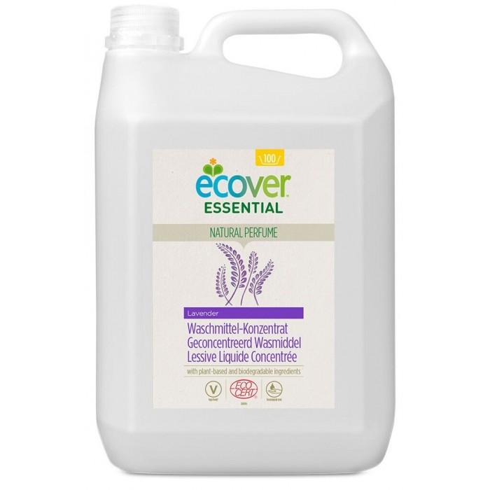 Гигиена и здоровье , Бытовая химия Ecover Концентрированная жидкость для стирки с лавандой Essential 5 л арт: 437884 -  Бытовая химия