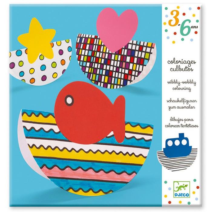 Раскраски Djeco Набор для творчества Вибли-Вобли набор для творчества тм vladi раскраски глиттером сова