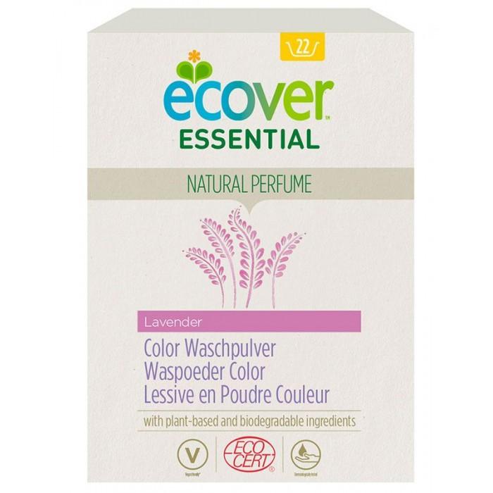 Бытовая химия Ecover Порошок для стирки цветного белья Essential 1.2 кг порошок для септиков и биотуалетов thetford aqua kem green sachets 12 шт