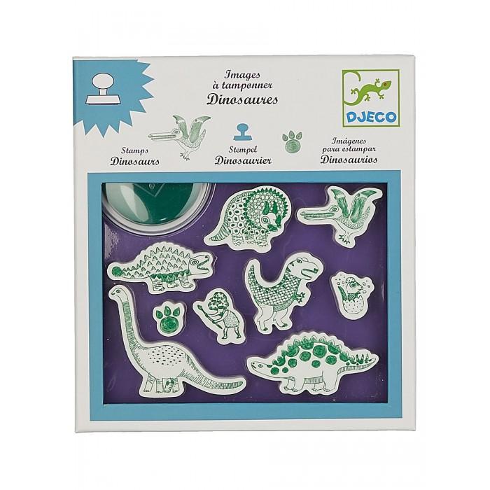 Принадлежности для рисования Djeco Набор штампов Динозавры, Принадлежности для рисования - артикул:437994
