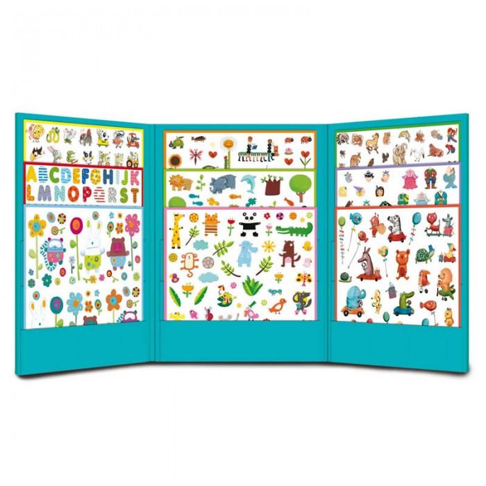 Развитие и школа , Детские наклейки Djeco 1000 наклеек для малышей арт: 438004 -  Детские наклейки