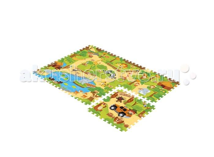 Игровой коврик Mambobaby пазл Зоопаркпазл ЗоопаркДвухсторонний развивающий коврик-пазл для детей от 3 лет, размер 180х135х2см.   Пазлы коврика 45х45см, 12 штук, являются фрагментами целого изображения, которые необходимо сложить воедино и увидеть законченную картинку.  Изображение на коврике познавательное и очень интересное для ребенка.  Не промокает, теплоизолирующий, суперлегкий.  Это идеальная площадка для ползания, игр и развития Вашего малыша. Изготовлен из безопасных полимерных материалов, не выделяющих токсинов и не имеющих запаха.  Производство Китай.<br>