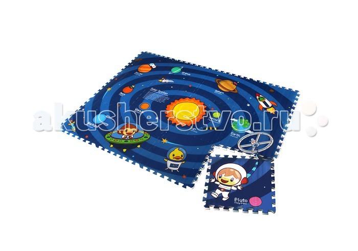 Игровой коврик Mambobaby пазл Солнечная системапазл Солнечная системаДвухсторонний развивающий коврик-пазл для детей от 3 лет, размер 180х135х2см. Пазлы коврика 45х45см, 12 штук, являются фрагментами целого изображения, которые необходимо сложить воедино и увидеть законченную картинку. Изображение на коврике познавательное и очень интересное для ребенка.   Не промокает, теплоизолирующий, суперлегкий. Это идеальная площадка для ползания, игр и развития Вашего малыша. Изготовлен из безопасных полимерных материалов, не выделяющих токсинов и не имеющих запаха. Производство Китай.<br>