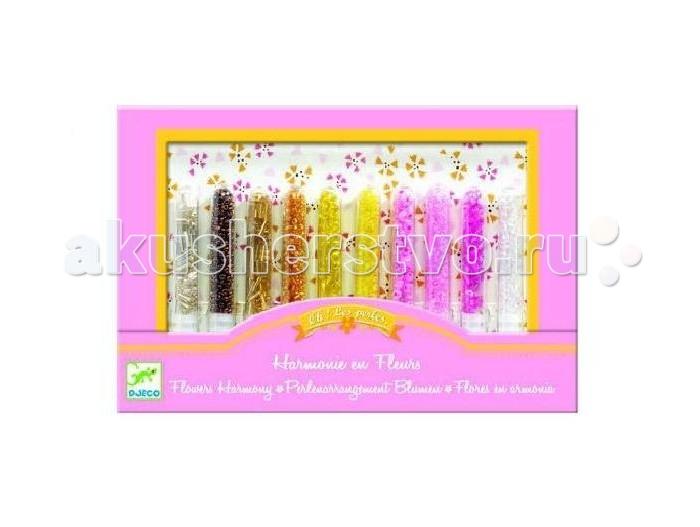 Наборы для творчества Djeco Набор для творчества Цветочная гармония набор для творчества помпон djeco набор для творчества помпон