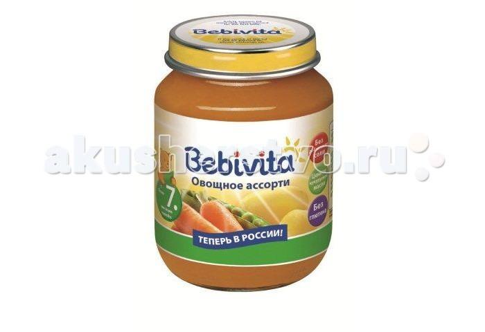 Пюре Bebivita Пюре Овощное ассорти с 7 мес. 100 г свадебная композиция