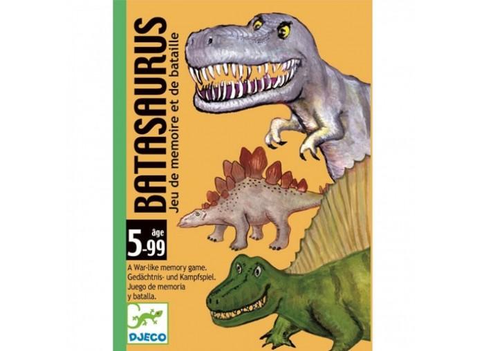 Настольные игры Djeco Детская настольная игра Динозавры игры для малышей djeco детская настольная карточная игра мини семья