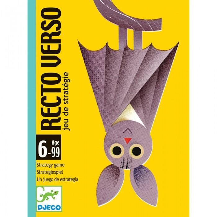 Настольные игры Djeco Карточная игра Ректо Версо игры для малышей djeco детская настольная карточная игра мини семья