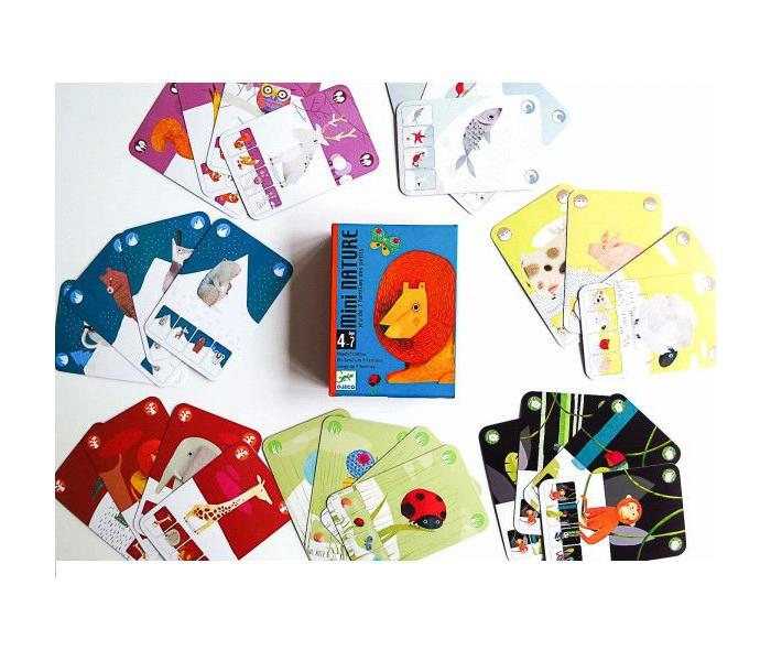 Настольные игры Djeco Детская настольная игра Маленькая природа настольные игры djeco настольная карточная игра мистибоо
