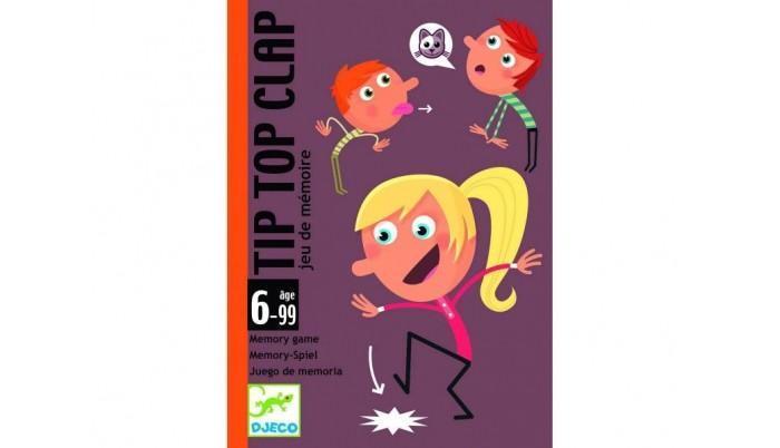 Настольные игры Djeco Детская настольная игра Теки игры для малышей djeco детская настольная карточная игра мини семья
