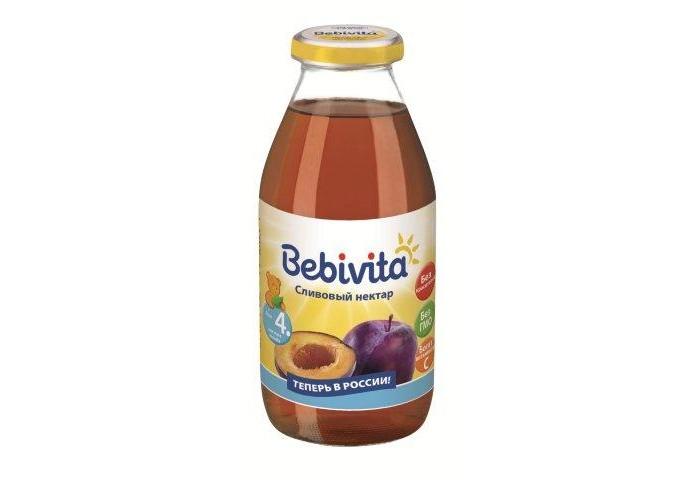 Соки и напитки Bebivita Сливовый нектар с 4 мес. 200 мл сок bebivita груша 200 мл