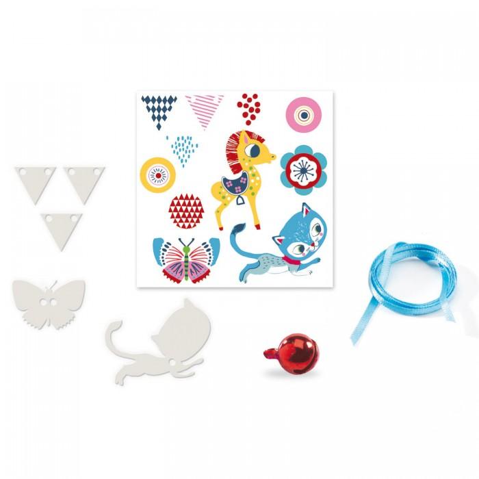 Наборы для творчества Djeco Набор для творчества Котёнок и пони наборы для творчества 4м фигурки из формочки принцесса 00 03528