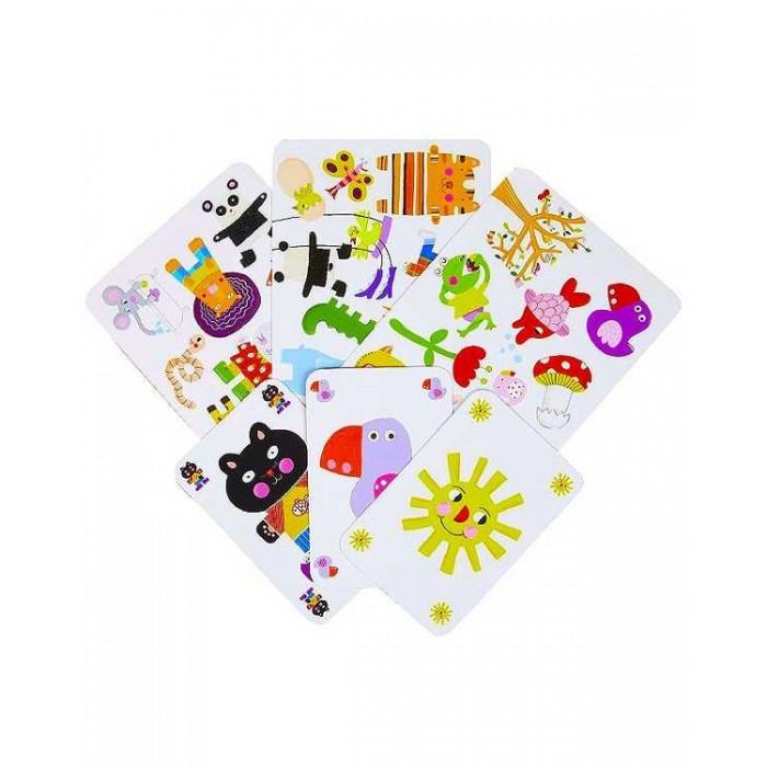 Игры для малышей Djeco Детская настольная карточная игра Миниматч игры для малышей djeco детская настольная карточная игра мини семья