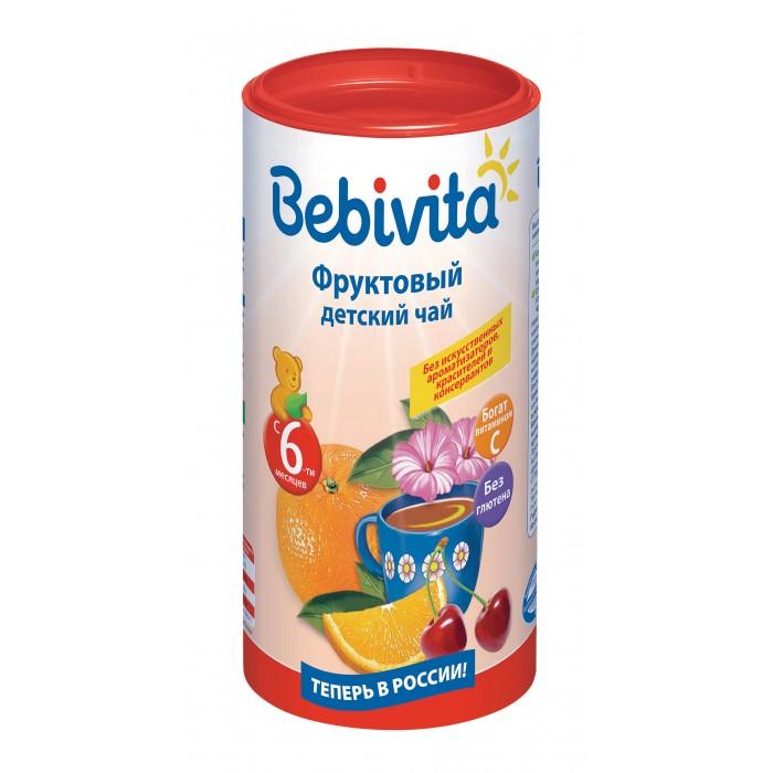 Чай Bebivita Детский чай Фруктовый с 6 мес. 200 г рязанские просторы клетчатка топинамбура 200 г