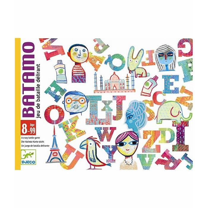Настольные игры Djeco Детская настольная карточная игра Батамо игры для малышей djeco детская настольная карточная игра мини семья