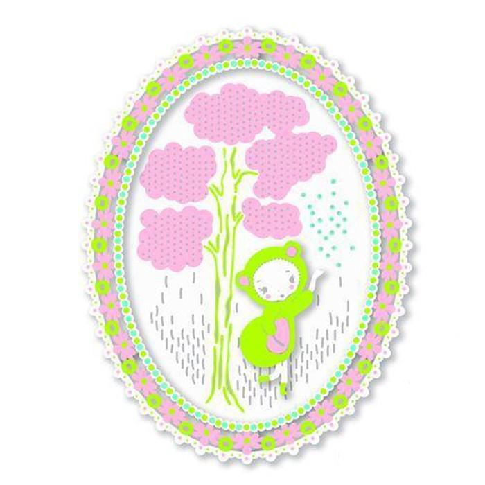 Наборы для творчества Djeco Набор для творчества Кружева наборы для творчества 4м фигурки из формочки принцесса 00 03528