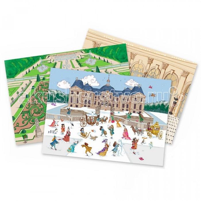 Развитие и школа , Детские наклейки Djeco Набор для творчества Виконт арт: 440374 -  Детские наклейки