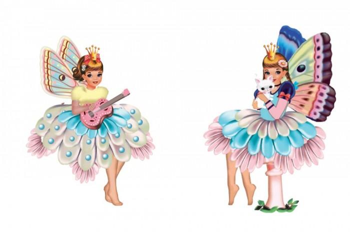 Детские наклейки Djeco Набор для творчества В стране чудес наборы для творчества djeco набор для творчества цветочная гармония
