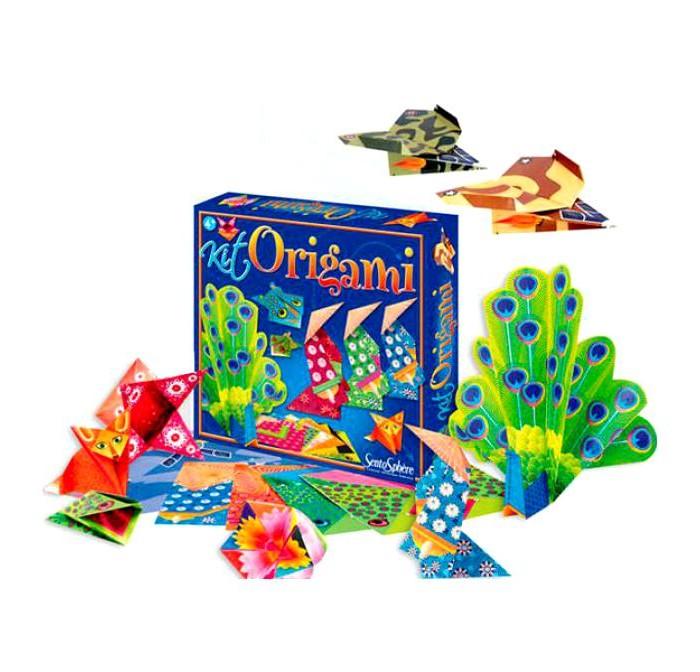 Наборы для творчества SentoSpherE Набор для детского творчества Оригами наборы для творчества folia набор для детского творчества чемоданчик весна