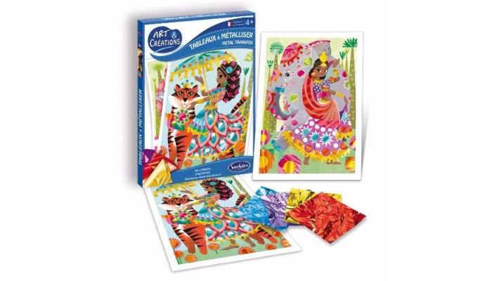 Наборы для творчества SentoSpherE Набор для детского творчества с блестками Болливуд наборы для творчества folia набор для детского творчества чемоданчик весна
