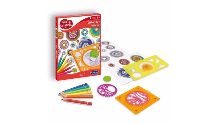 Наборы для творчества SentoSpherE Набор для детского творчества Арт искусство Спирали наборы для творчества sentosphere набор для детского творчества создай букет