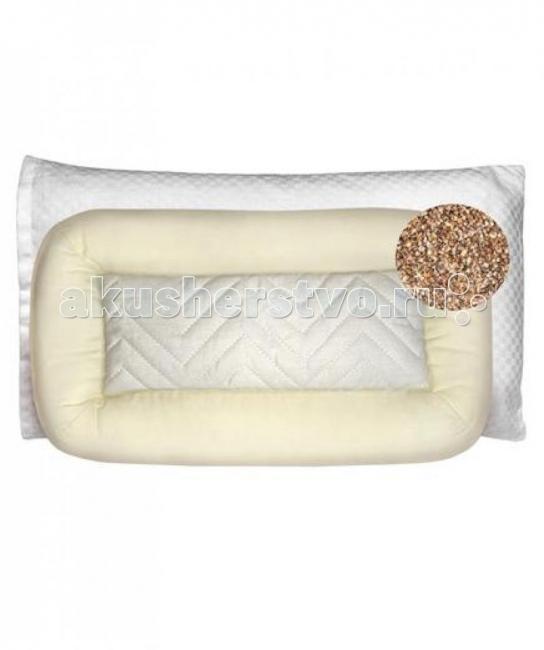 Подушки для малыша Baby Nice (ОТК) Подушка с наполнителем из гречневой лузги ортопедическая подушка в автомобиль в кировограде