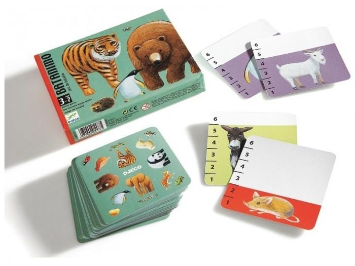 Игры для малышей Djeco Детская настольная карточная игра Волшебные картинки игры для малышей djeco детская настольная карточная игра мини семья