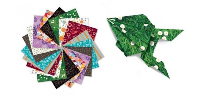 Наборы для творчества Djeco Оригами наборы для поделок апплика набор для творчества цветочный подарок астры
