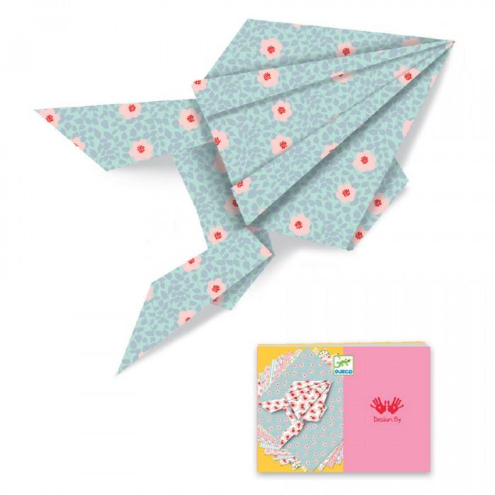 Наборы для творчества Djeco Оригами 100 листов homephilosophy набор из 2 х декоративных фигурок сов tweety