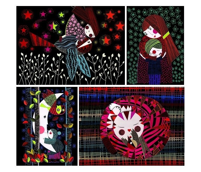 Наборы для творчества Djeco Набор для творчества Нежная ночь наборы для творчества eastcolight набор для исследований tele science 35 предметов