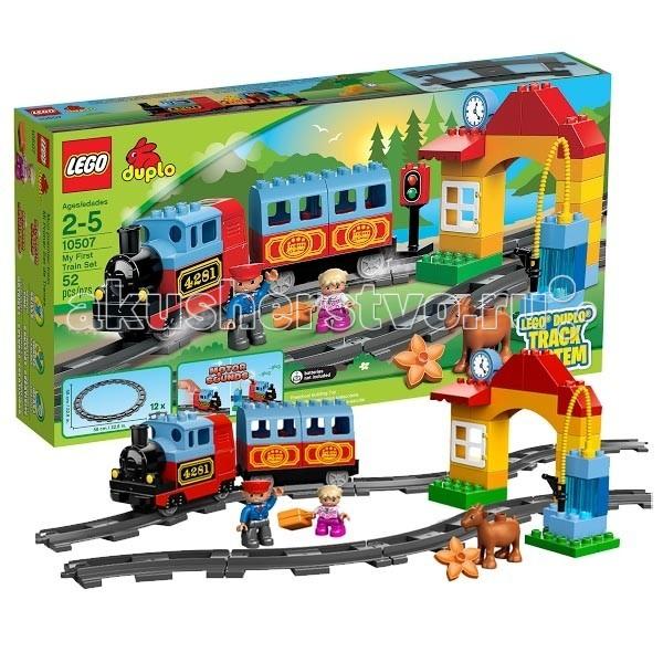 Lego Lego Duplo 10507 Лего Дупло Мой первый поезд lego duplo 10508 лего дупло большой поезд