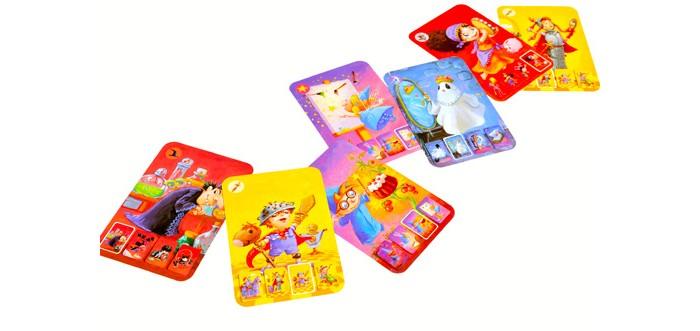 Игры для малышей Djeco Детская настольная карточная игра Мини-семья настольные игры djeco настольная карточная игра занимач