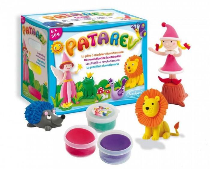 Творчество и хобби , Всё для лепки SentoSpherE Пластилин для детской лепки Патарев 6 цветов арт: 441364 -  Всё для лепки