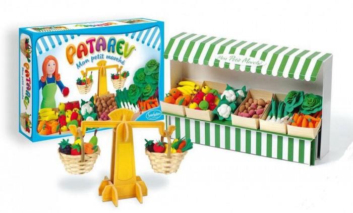 Всё для лепки SentoSpherE Набор Патарев Фруктово-овощная лавка наборы для лепки sentosphere набор для творчества в блистере патарев