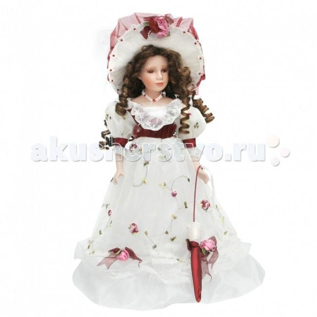 Куклы и одежда для кукол Lisa Jane Кукла фарфоровая Вероника 18 45.7 см куклы lisa jane кукла фарфоровая сара 18