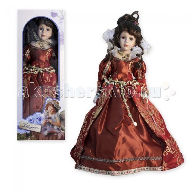 Куклы и одежда для кукол Lisa Jane Кукла фарфоровая Виталия 16 40.6 см куклы lisa jane кукла фарфоровая сара 18
