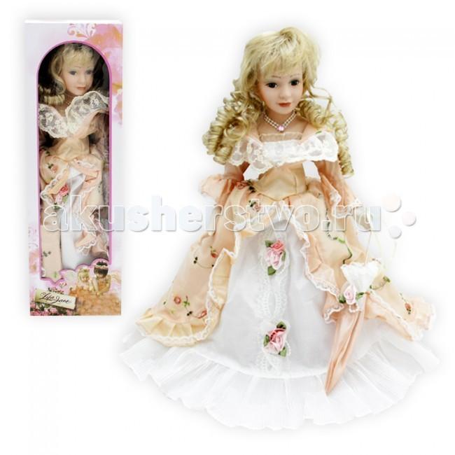 Куклы и одежда для кукол Lisa Jane Кукла фарфоровая Екатерина 18 45.7 см lisa jane кукла фарфоровая дина