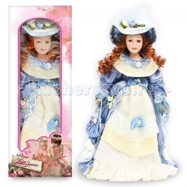 Куклы и одежда для кукол Lisa Jane Кукла фарфоровая Маргарет 14 35.5 см куклы lisa jane кукла фарфоровая ребекка