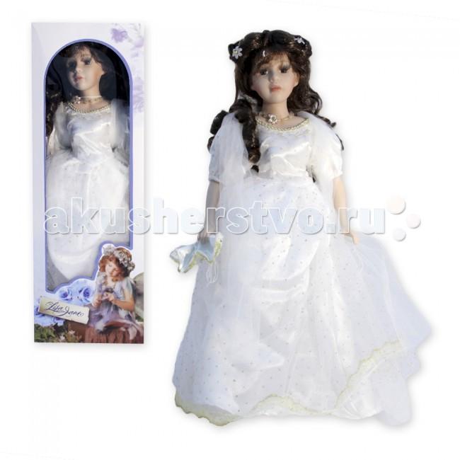 Куклы и одежда для кукол Lisa Jane Кукла фарфоровая Моника 16 40.6 см куклы lisa jane кукла фарфоровая сара 18