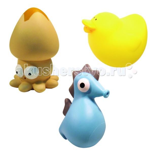 Игрушки для ванны MAPA baby Набор ПВХ для ванной Веселая компания бордюр из пвх для ванной progress profiles в нижнем новгороде