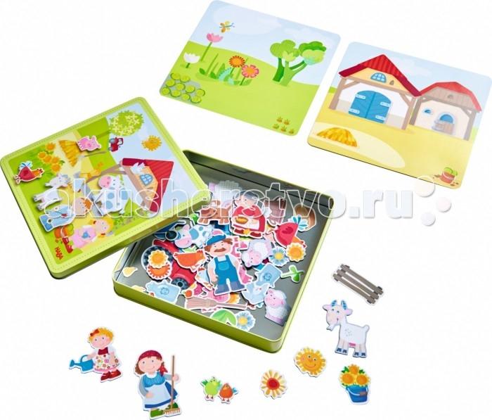 Игры для малышей Haba Игра Ферма Петра и Полины