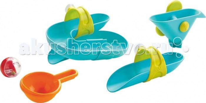 Купание малыша , Игрушки для ванны Haba Набор Горки арт: 442564 -  Игрушки для ванны