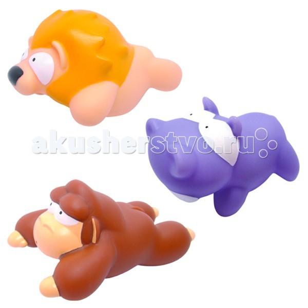 Игрушки для ванны MAPA baby Набор ПВХ для ванной Джунгли игрушки для ванной alex игрушки для ванны джунгли