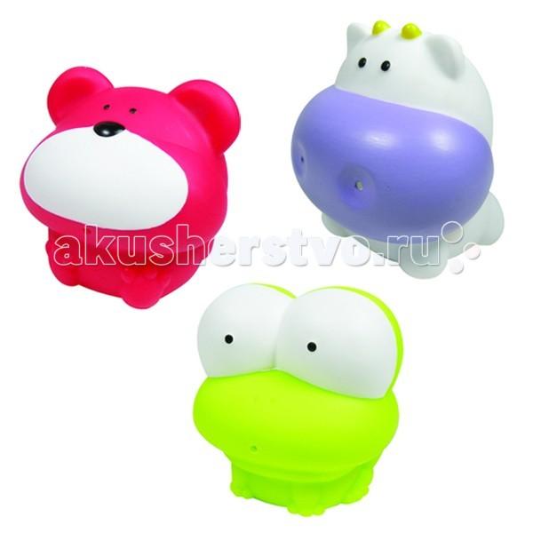 Игрушки для ванны MAPA baby Набор ПВХ для ванной Первые друзья игрушки для ванны tolo toys набор ведерок квадратные