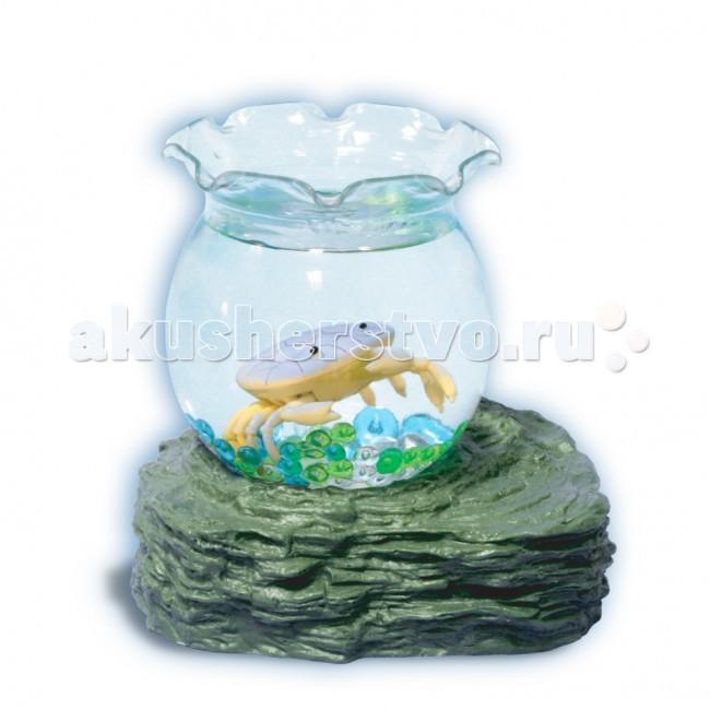 Электронные игрушки УникУМ Набор аквариум с 1 крабиком