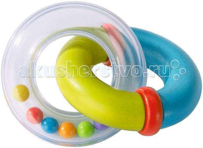 Погремушки Haba Двойное кольцо haba игрушка для купания вентилятор пузырей цвет синий