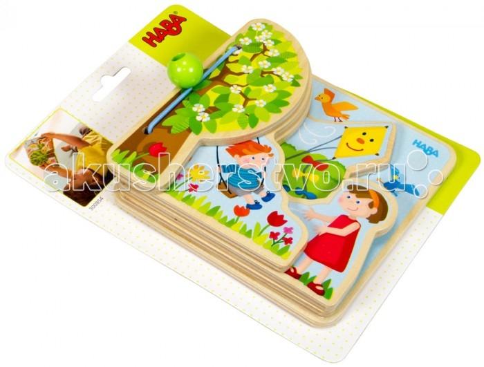 Книжки-игрушки Haba Книга Четыре сезона