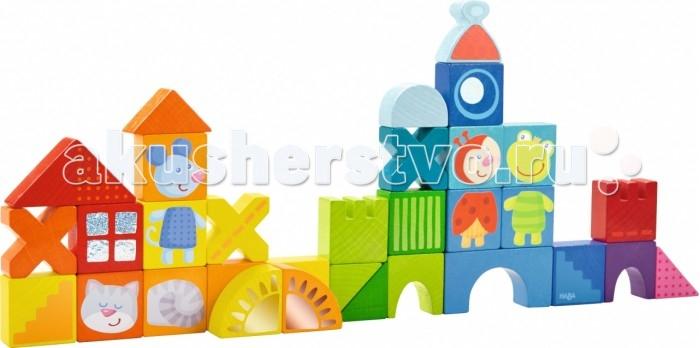 Деревянные игрушки Haba Конструктор Кошки мыши и друзья haba книга друзья на ферме